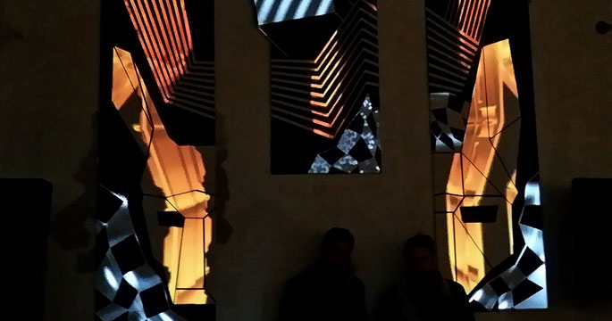 Mapping for Wolf Kino Berlin