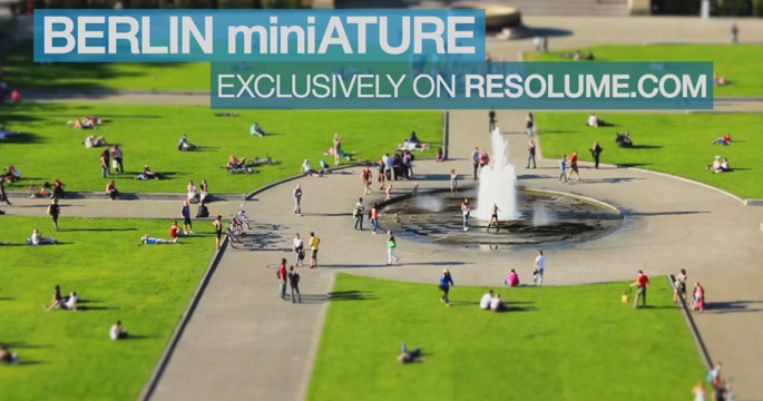 Berlin Miniature – VJ Loops